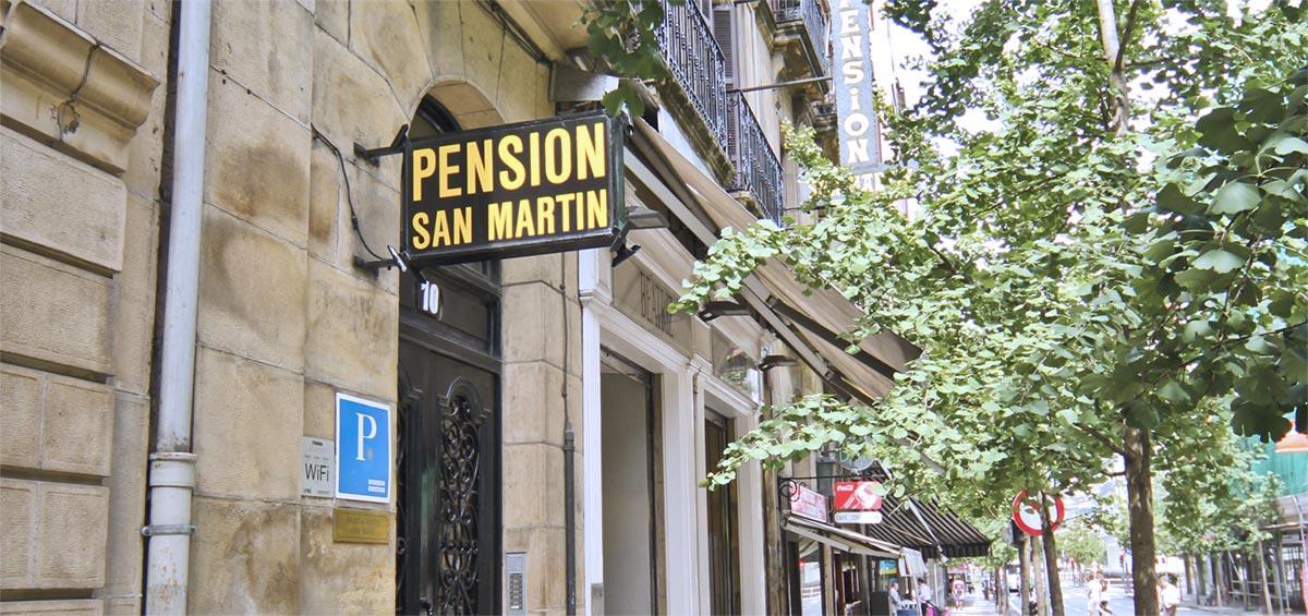 Pensión En San Sebastián San Martín Pensión San Martin